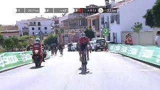 Contador attacks! - Stage 12 - La Vuelta 2017