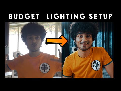 Budget Lighting Setup for Youtubers in 2020 | The Indian Filmmaker | Hindi Vlog