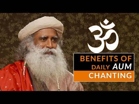 ��️Sadhguru Benefits of AUM Chanting | OM Chanting