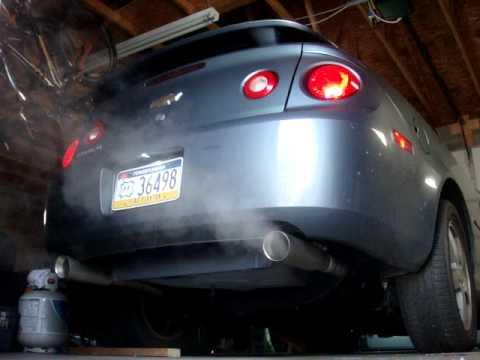 "2010 Cobalt Ss >> 2006 chevy cobalt Lt dual exhaust 23"" (inch) cherry bomb ..."