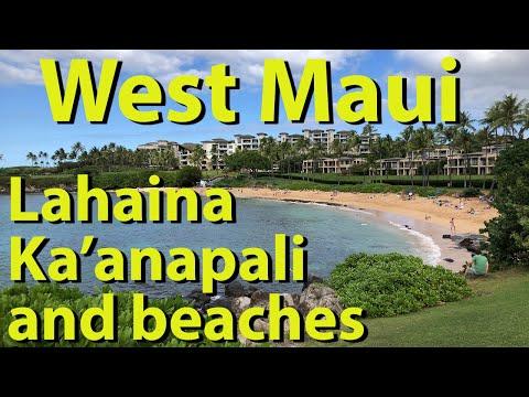 West Maui, Lahaina, Kaanapali and beaches, Hawaii