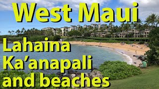 West Maui, Lahaina, Kaanapali and beaches, Hawaii