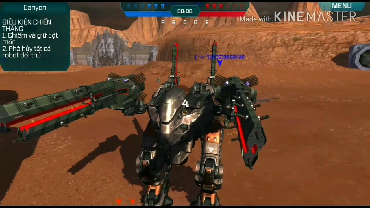 War Robots - New Robots Butch x4 Trebuchets - Sneak Peek Heavy ...