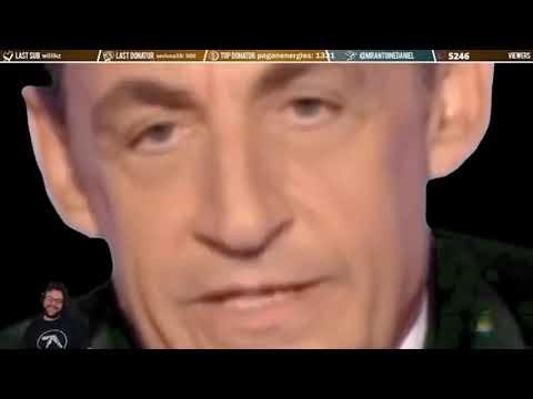Sarkozy Quel Indignite Version Sature Live Antoine Daniel Youtube