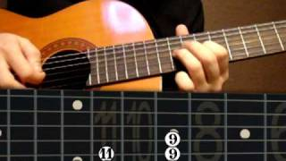 Guitar Lesson Nokia Tune