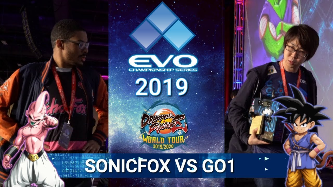Dragon Ball FighterZ finals were huge at EVO 2019- Go1 vs