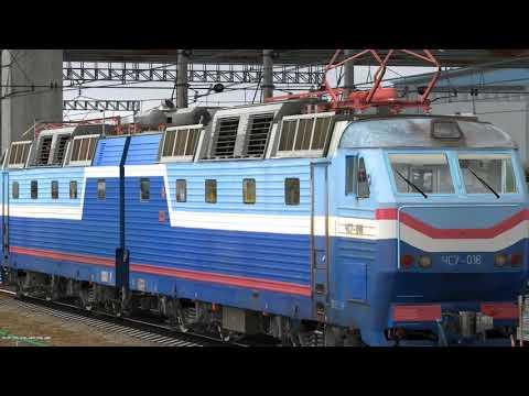 ЧС7-016 на станции Москва-пасс.-Павелецкая