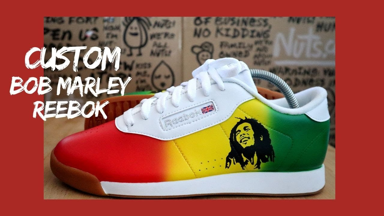 Reebok Classic White | Bob Marley Remix