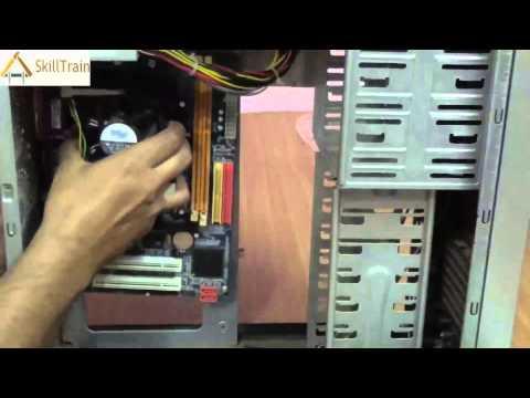 Assembling the Cabinet of a CPU (Hindi) (हिन्दी)