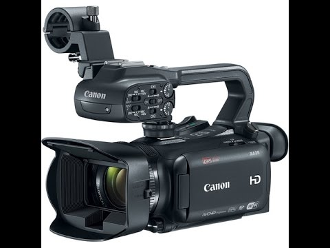 Canon camcorder XA35,HD/SD-SDI terminals, Improved HD CMOS PRO Sensor andHD Video Lens full review
