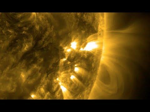 Million Degree Double Solar Flares