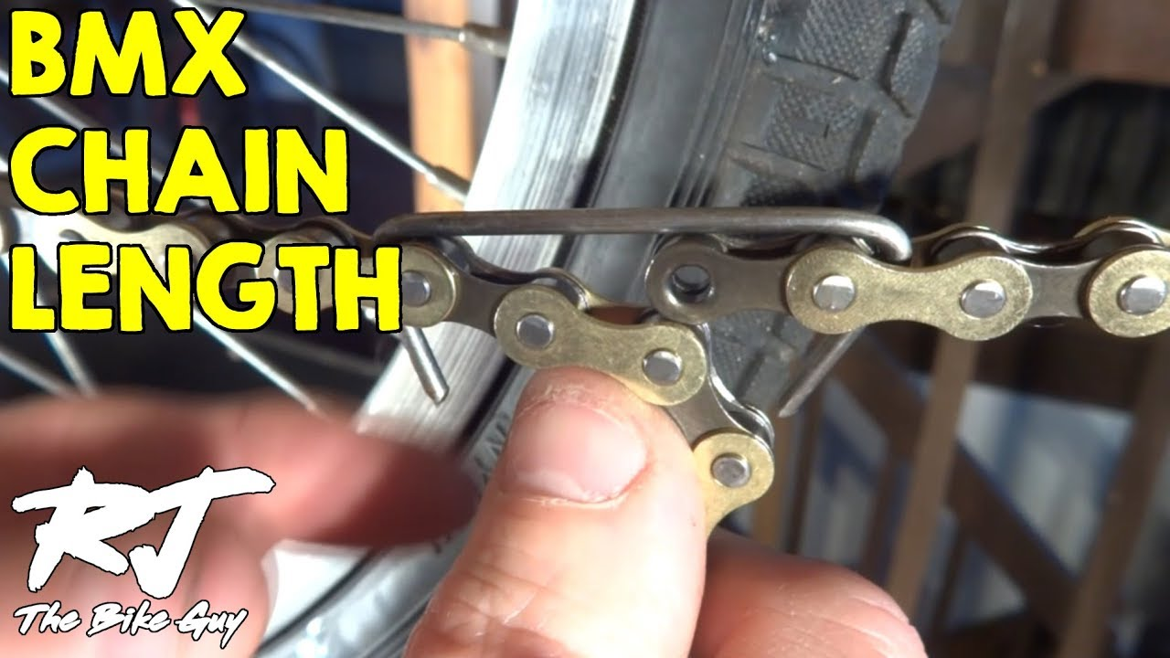 What Size & Length Chain For BMX Bike - YouTube
