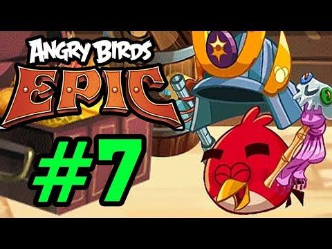 ANGRY BIRDS EPIC - MŨ SAMURAI CỰC KHỦNG CỦA RED Tập 7