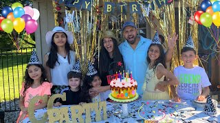 BIRTHDAY Surprise Party for SERENE!! she turns 15 - family fun vlogs