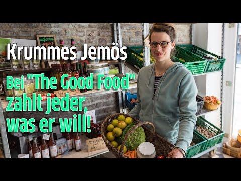 Köln: The Good Food auf der Venloer Straße verkauft ausrangiertes Obst, Gemüse, Lebensmittel