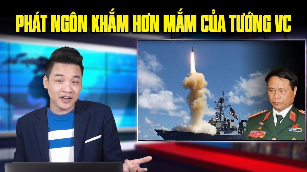 Tướng hèn Việt cộng phản đối Mỹ tập trận chỉ trích Mỹ làm căng thẳng biển đông