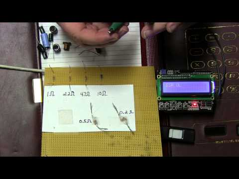 DIY Arduino Esr Meter Shield - Part 1: Intro & Demo