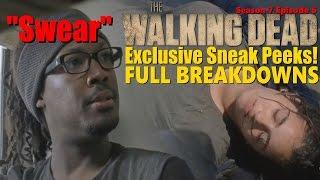 twd 7x06 new sneak peeks analysis breakdowns predictions season 7 episode 6 swear