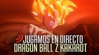 Continuamos nuestra andadura en Dragon Ball Z Kakarot en directo. ¡Más regalos y risas!