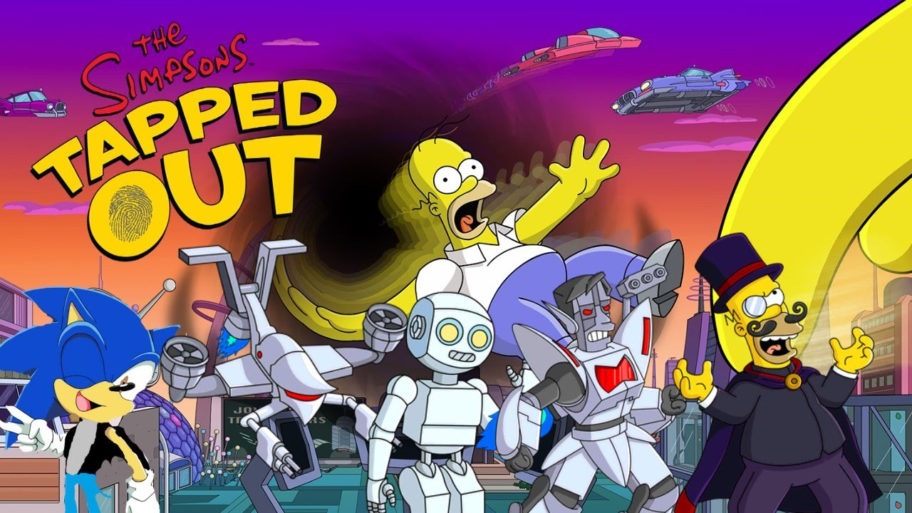 Download Lorcan the Hedgehog Let's Play: The Simpsons Tapped Out Part 67 (Sci-Fi Event Finale)