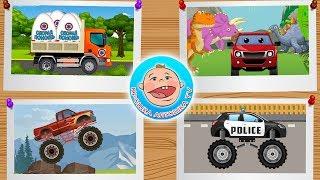Машинки - 4 истории про виды транспорта. 3 - серия