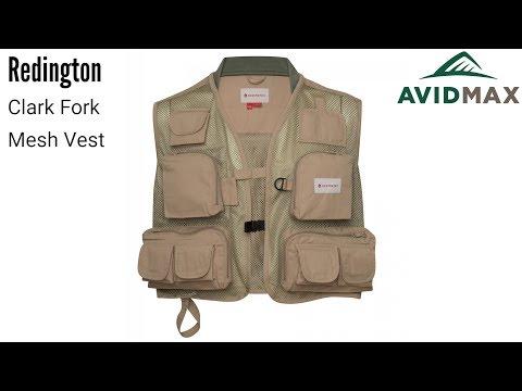 Redington Clark Fork Mesh Vest Review   AvidMax
