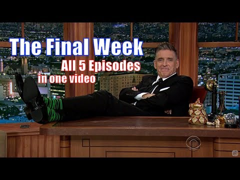 The Final Week - The Late Late Show W/ Craig Ferguson - 5/5