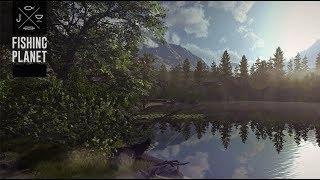 Fishing Planet фарм на озере Фэлкон фарелька кумжа если повезет