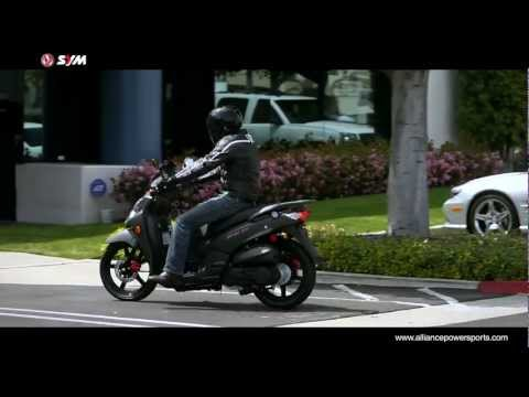 Official SYM HD 200 EVO Scooter Video - Distributed by AlliancePowersports.com