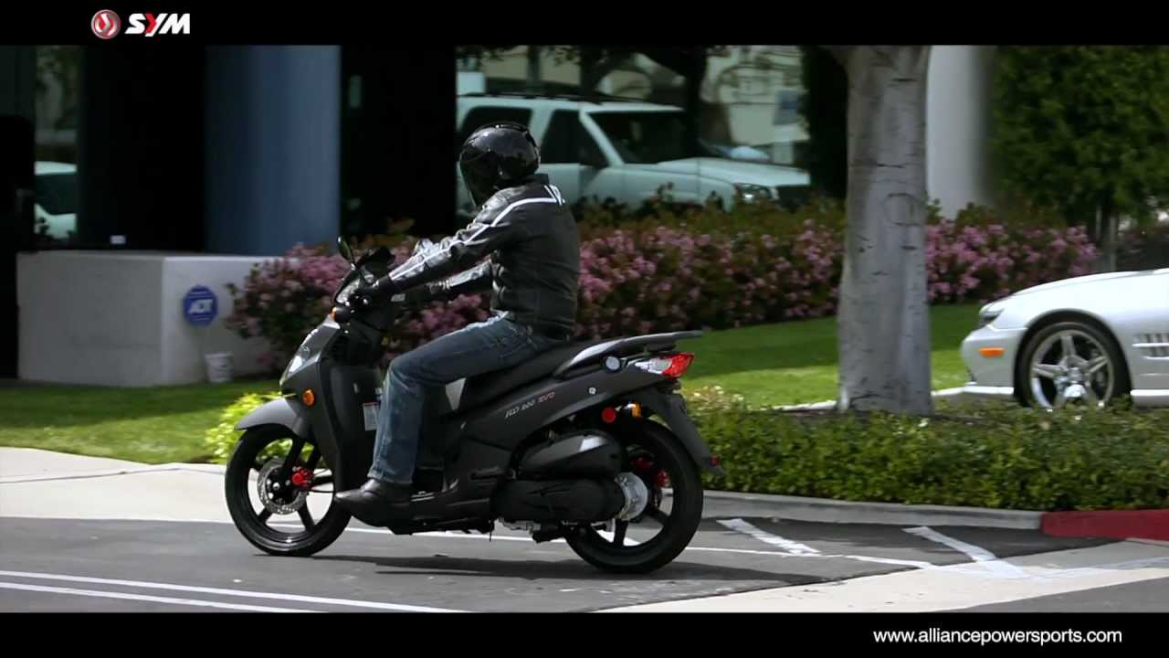 Official SYM HD 200 EVO Scooter Video - Distributed by  AlliancePowersports com