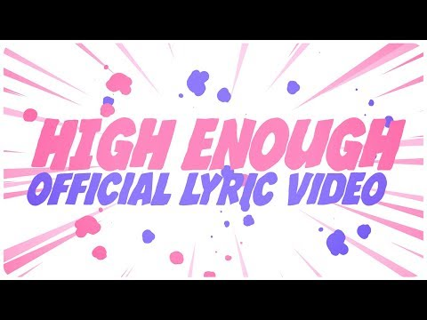 Justin Caruso - High Enough ft. Rosie Darling (Lyric Video)