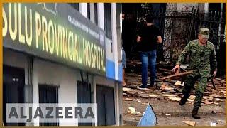 🇵🇭 Philippines church bombing: Twin blasts hit Jolo cathedral   Al Jazeera English