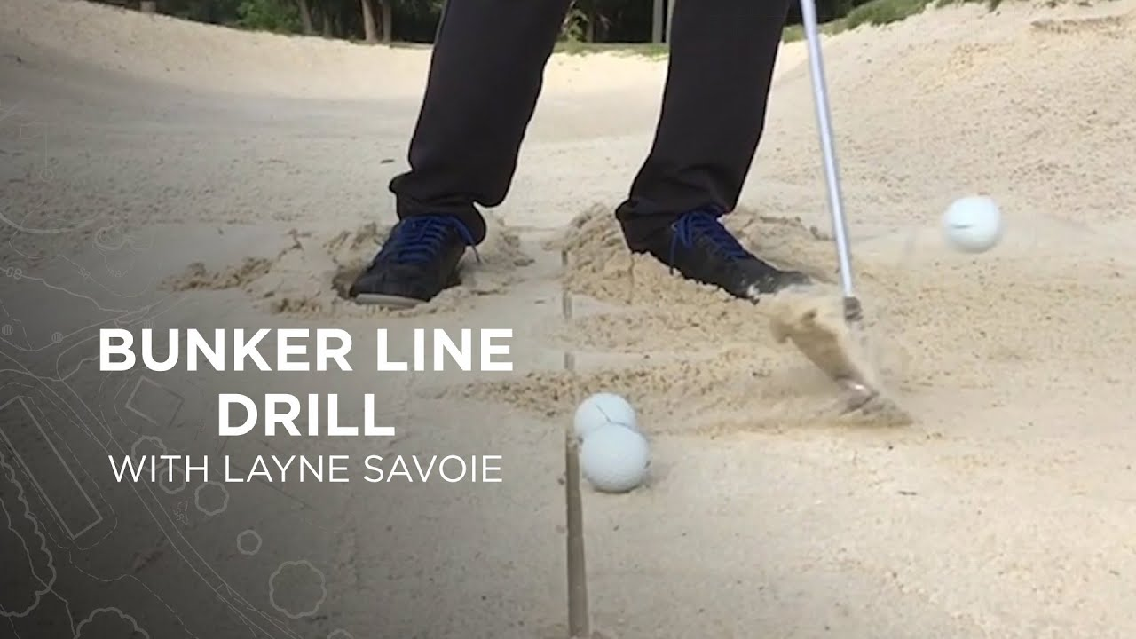 Titleist Tips: Bunker Line Drill for Low Point Control