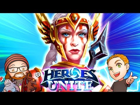 Heroes Unite: Cassia - First Impressions | MFPallytime & Mewnfare | Heroes of the Storm