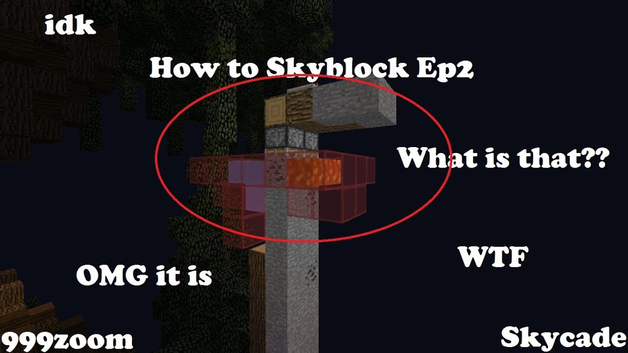 How to Skyblock Ep2 (on Skycade) // Warping // 999zoom