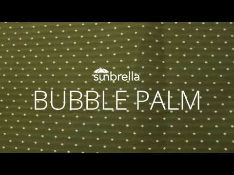 Review of Sunbrella Bubble Palm Outdoor Upholstery Fabric