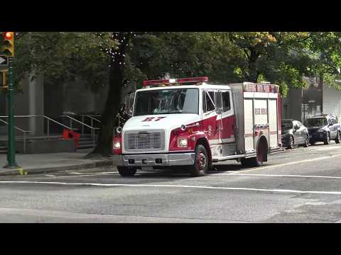 Vancouver Fire & Rescue Services *Old* Medic 7 & BCAS Responding
