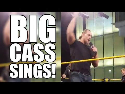 Big Cass Sings Carmella's WWE Theme At Wrestlemania 33 Ticket Party!