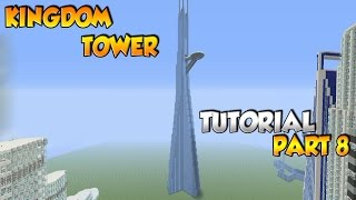 Minecraft Kingdom Tower Tutorial Part 8 - XBOX/PS3/PC