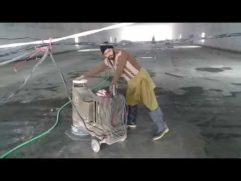 25000 Square Feet Terrazzo Floor Polishing Project