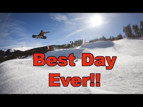Best Snowboarding Day Ever At Keystone Colorado - (Season 3, Day 59)