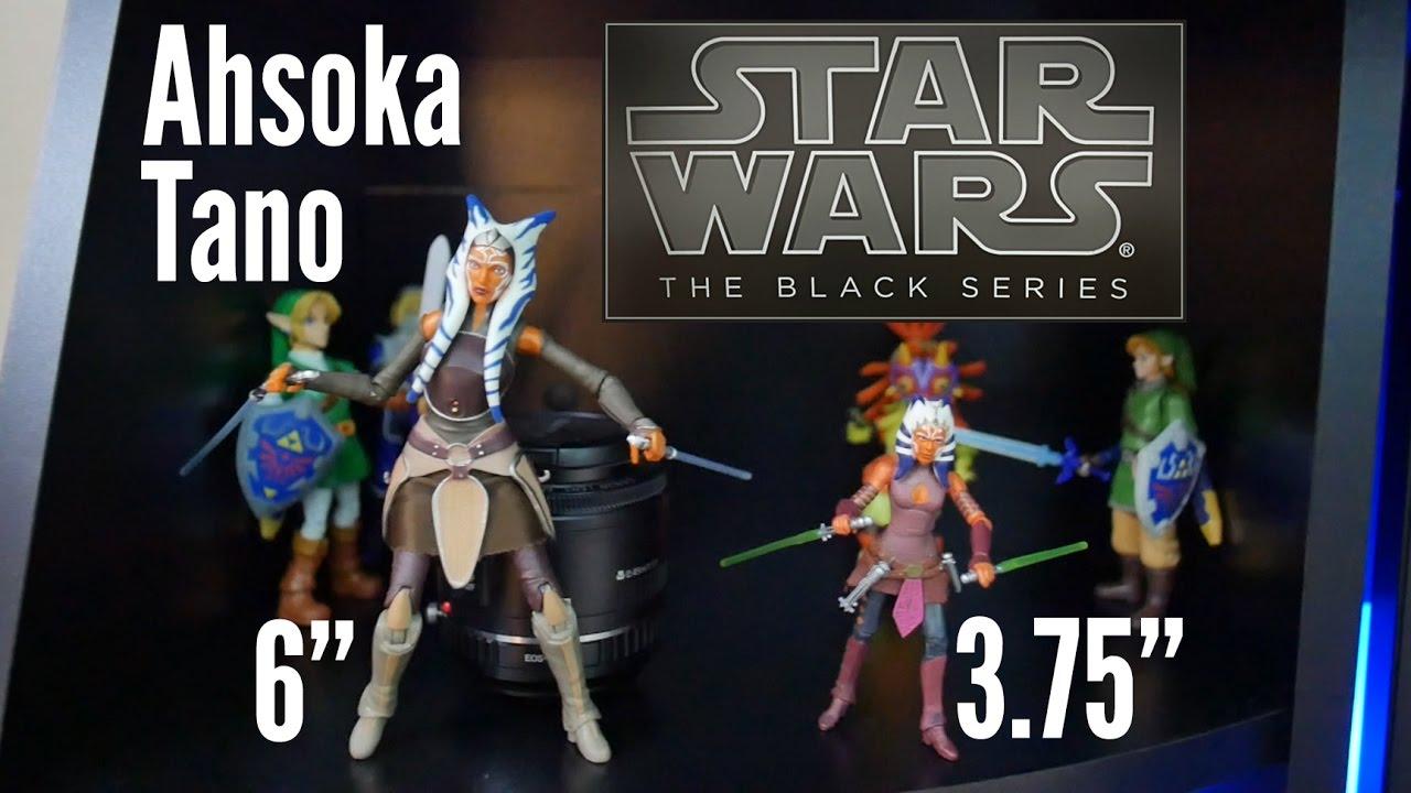 Neuf Star wars Black series 3.75 Ahsoka Tano