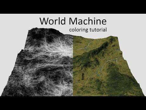 World Machine - Texturing tutorial
