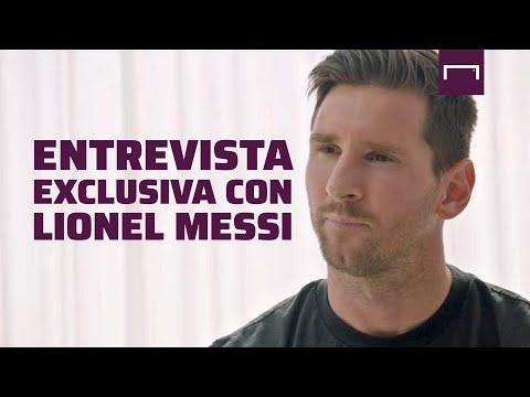 Lionel Messi ratificó que sigue en Barcelona y expresó su descontento