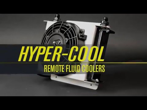 [DIAGRAM_5UK]  Hyper Cool Remote Cooler - Derale Performance - YouTube | Derale Oil Cooler Wiring Diagram |  | YouTube