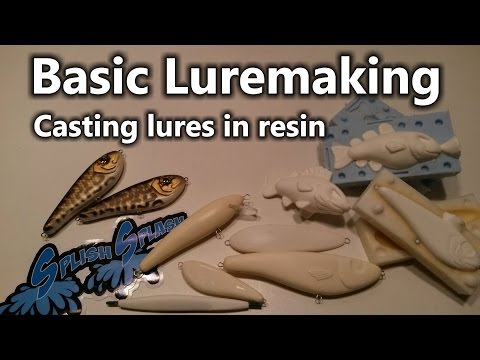 Basic Luremaking - Casting Lures In Resin