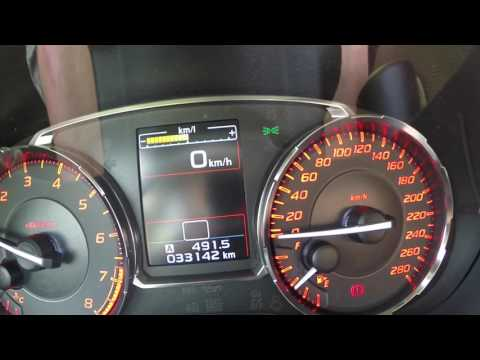 0-100 0-60 2015 Subaru WRX 2.0 Turbo