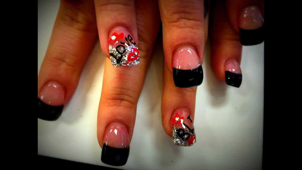 acrylic curve nails hump
