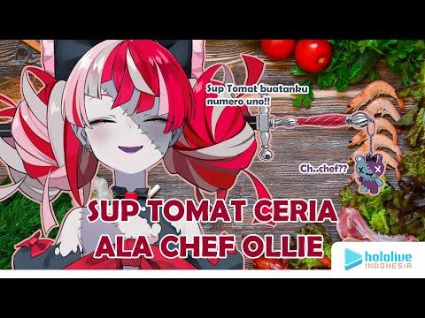 Sup Tomat Ceria ala Chef Ollie
