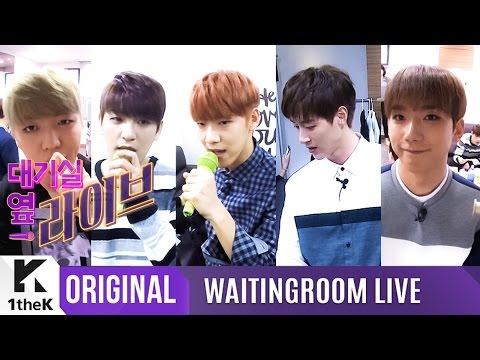WAITINGROOM LIVE: 100%(백퍼센트) _ 100%'s explosive high-note live _ Better Day(지독하게)
